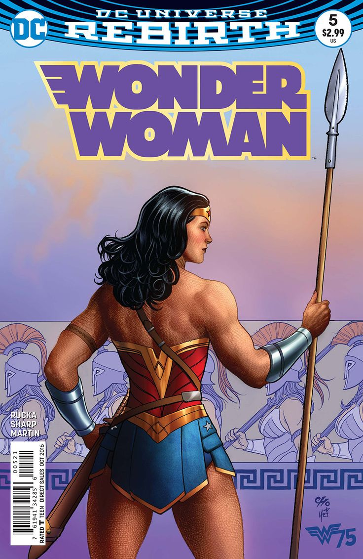 "*High Grade* (W) Greg Rucka (A) Liam Sharp (CA) Frank Cho ""The Lies"" part three! Steve Trevor finds himself trapped in the heart of Urzkartaga's darkness, with Wonder Woman and Cheetah the only hope o"