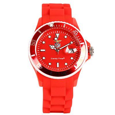 Relógio Oficial Sport Lisboa e Benfica Vermelho - SLB4524-57