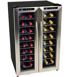 @Overstock - Store up to 32 bottles of your best wine under optimum conditions in this EdgeStar Dual-zone  wine coolerYour wine enjoys the optimal temperature and humidity conditions in this wine refrigeratorhttp://www.overstock.com/Home-Garden/EdgeStar-32-bottle-Dual-zone-Wine-Cooler/3712178/product.html?CID=214117 $456.25