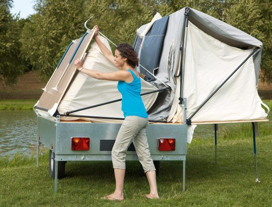 Camplair Xl Easy Erect Large Family Trailer Tent