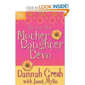 """The One Year Mother-Daughter Devo is designed to be used by a mother and her tween daughter; both can read and understand the same devotion and share in the """"girl gab"""" section to discuss their understanding of Scripture and their relationship with God. The devotion will strengthen mother-daughter relationships as well as their relationships with God."""