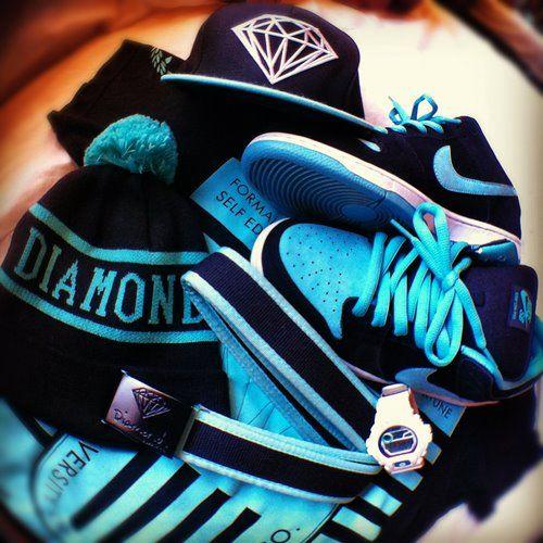 DIAMOND + NIKE