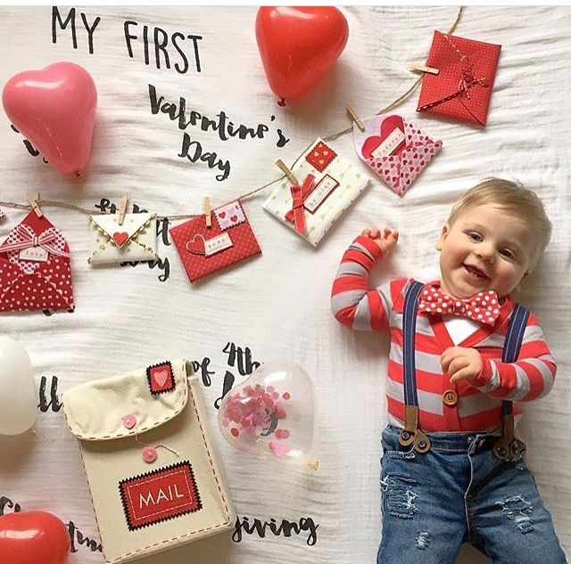Valentines Day Outfit Baby Boy Valentines Day Baby Valentine Baby Pictures Baby Photoshoot Boy