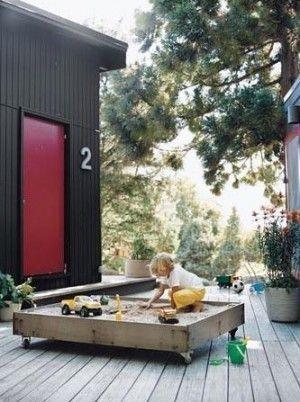 if I had a bigger deck or a concrete backyard...