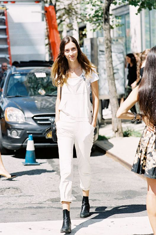 Vanessa Jackman: New York Fashion Week SS 2015....Alana