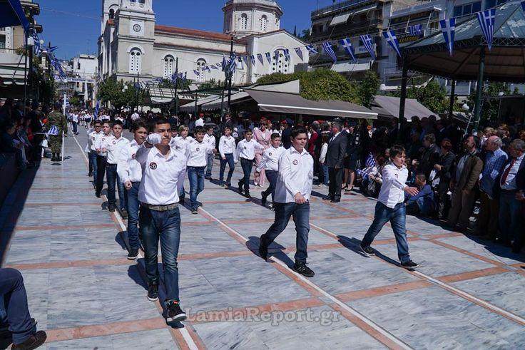 Λαμία: Η παρέλαση της 25ης Μαρτίου - ΦΩΤΟΡΕΠΟΡΤΑΖ