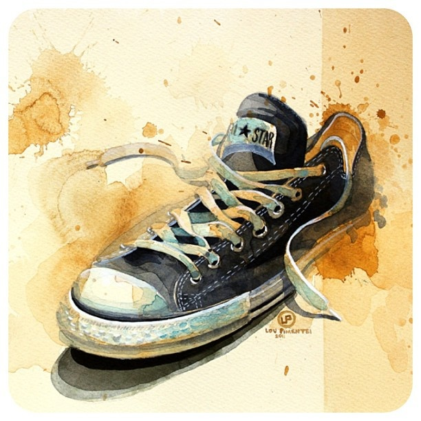 converse shoes clip art black and white abstract background for