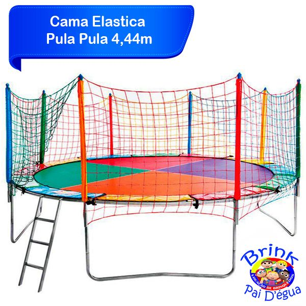 Cama Elastica De 4 44m Brinquedos Camas Elasticas Cama