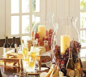Simple yet elegant...: Centerpiece, Party'S, Wine Tasting, Wine Party, Wine Parties, Wine Cheese, Cheese Party, Party Ideas