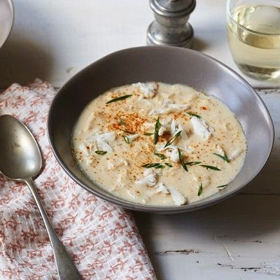 Charleston She-Crab Soup - USA Southeast Coastal Region