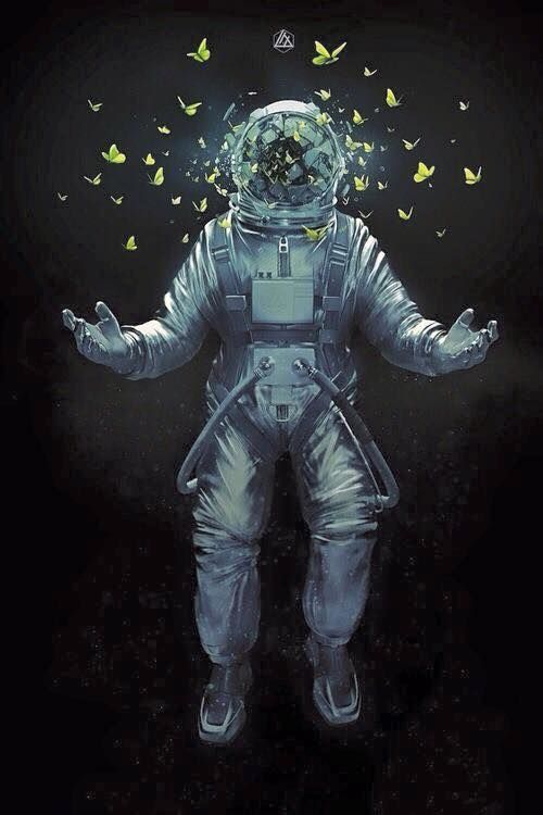 astronaut floating away - photo #10