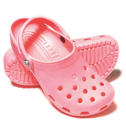 I love pink crocs... Said no one ever!