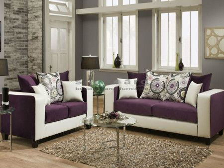 Superior Dempsey Eggplant Two Piece Living Room Set Is Available In Several Unique  Color Choices Espresso, Part 8