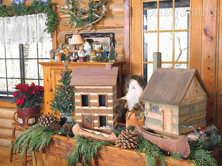 11 best Lodge-Style Christmas Decorating images on Pinterest ...