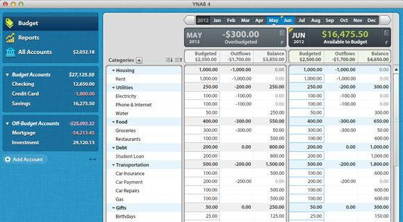 This is I think the best out there... Awesome way to organize finances... Personal Budget Software - Finance Software for Windows & Mac | YNAB
