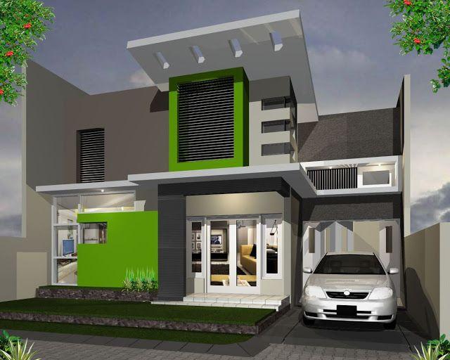 Contoh Kombinasi Cat Rumah Minimalis Warna Hijau Rumah Minimalis Desain Rumah Rumah
