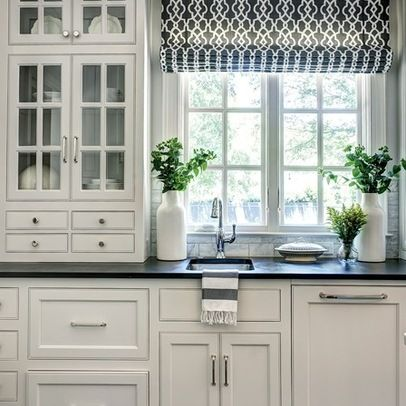 Katie Emmons Design ~ grey kitchen Love the shades