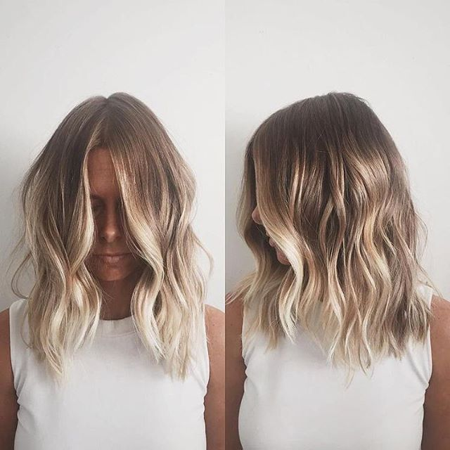 hair goals // platinum hair dye balayage