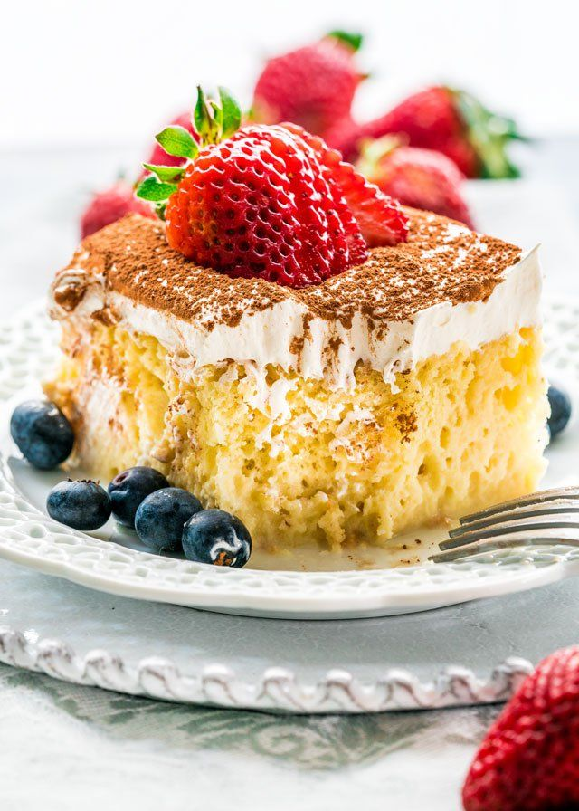 "foodffs:  ""Tres Leches CakeFollow for recipes  Get your FoodFfs stuff here  """