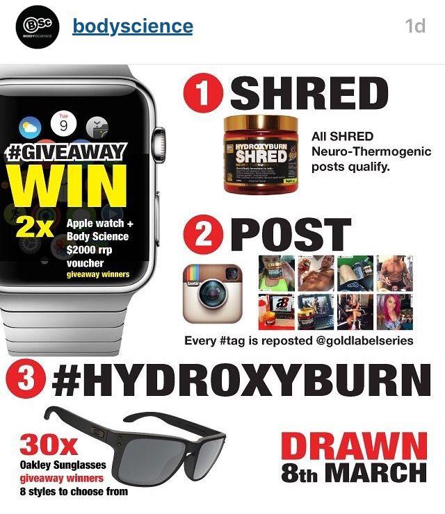 HydroxyBurn shred #hydroxyburn and win?