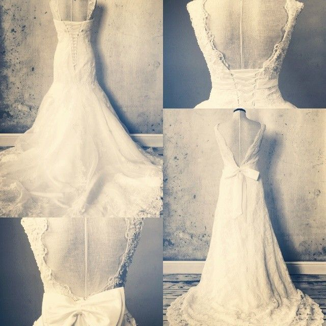 Remember, the back of a wedding dress is just as important as the front.