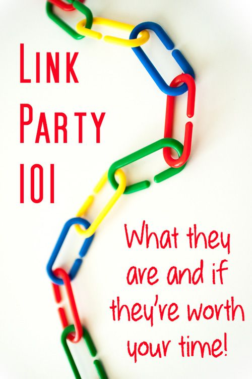 As a blogger, it is so helpful to know the pros and cons about link parties and if a link party is worth my time to link to or host! Very helpful post!