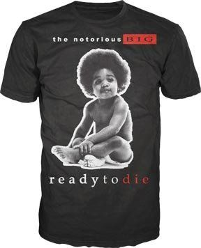 Mens Notorious BIG Ready To Die T-shirt