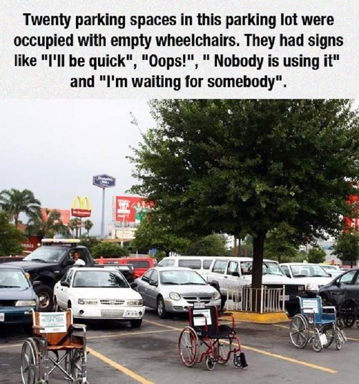 How To Punish Those Bad Car Park Users! http://techmash.co.uk/2014/07/21/how-to-punish-those-bad-car-park-users/  #WheelChairs #CarParks