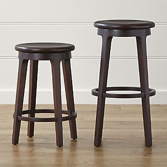 Nora Swivel Backless Bar Stools