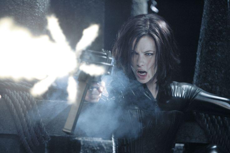 Kate Beckinsale as Selene in 'Underworld'