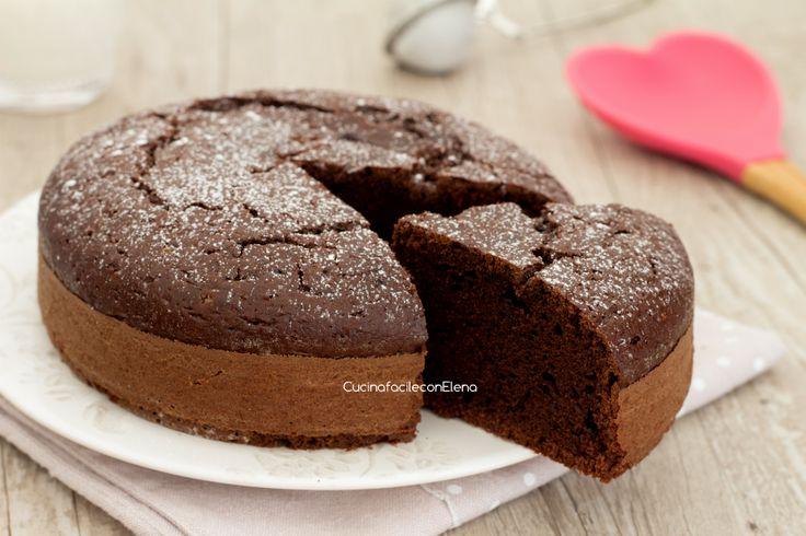 Torta+al+cucchiaio+soffice+e+velocissima