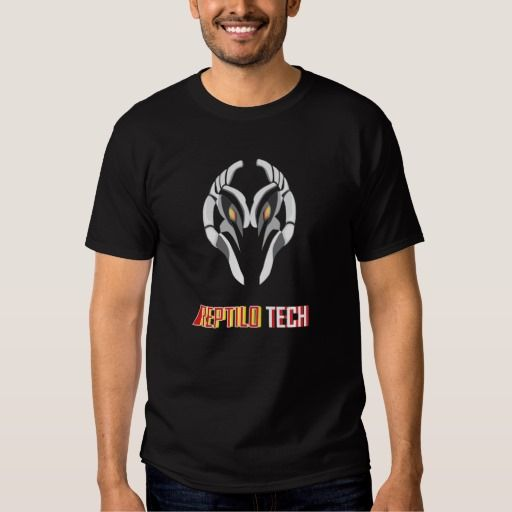 "My T - shirt on Zazzle ""Reptilo Tech"""