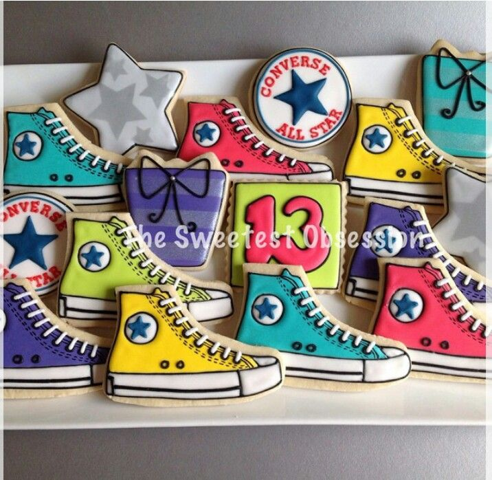 128 Best Images About Sneaker Birthday Party On Pinterest
