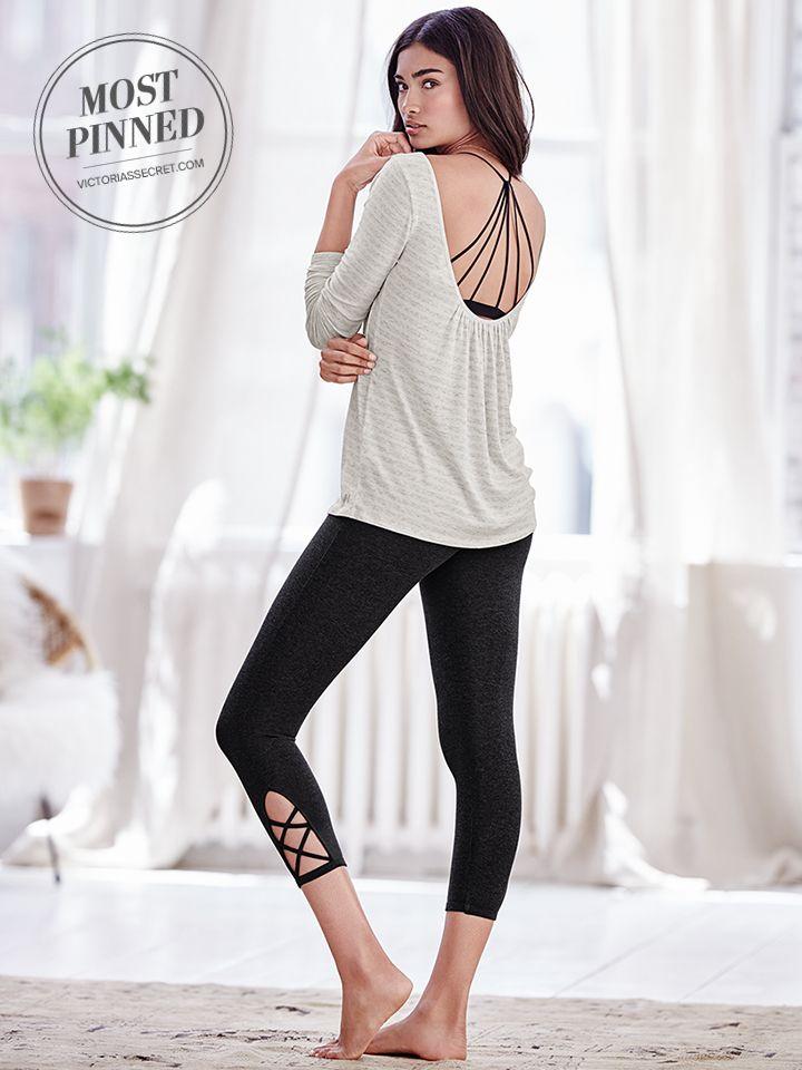 Top 25 ideas about Black Capri Outfits on Pinterest | Workout ...