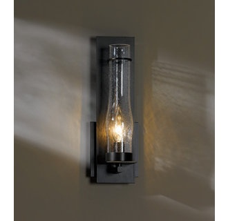 Wall Sconce Glass Chimney : Rustic wall sconce with glass chimney. Unexpectedly ...