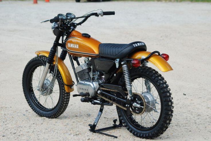 pinterest.com/fra411 #classic #motorbike - Yamaha DT 175