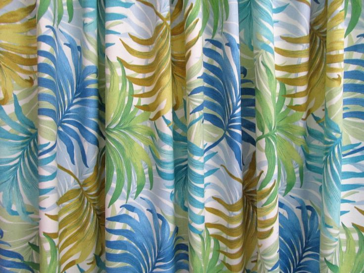 Tropical Shower Curtain, Palm Leaf Decor, Light Blue Shower Curtain, Leaf Print Shower Curtain, Beach Theme Decor, Island by asmushomeinteriors on Etsy https://www.etsy.com/listing/469267867/tropical-shower-curtain-palm-leaf-decor