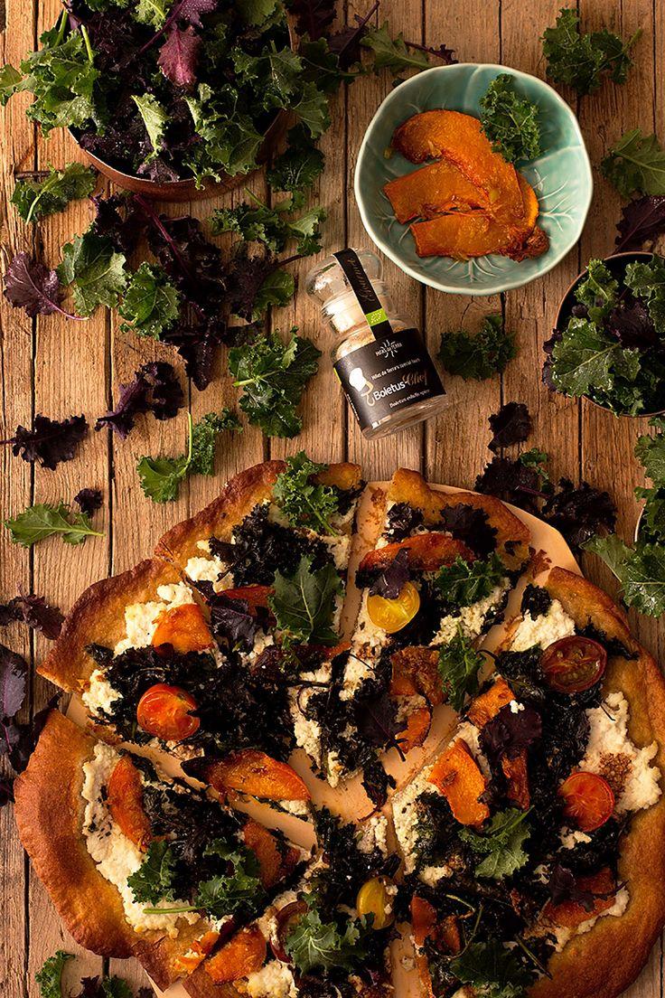 Disfruta del Kale con esta irresistible Pizza de Verduras - O'Food
