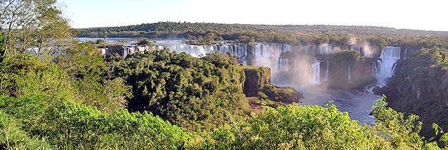 les chutes d iguassu Bresil Argentine