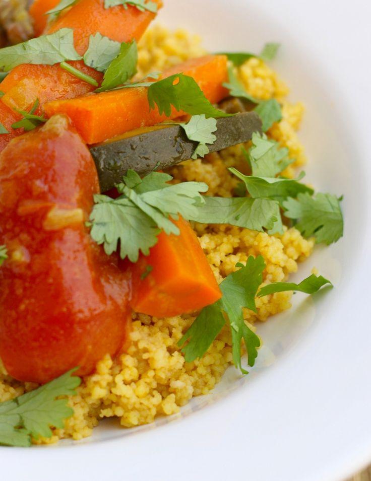 Marokkaanse couscous met groenten // Francesca Kookt