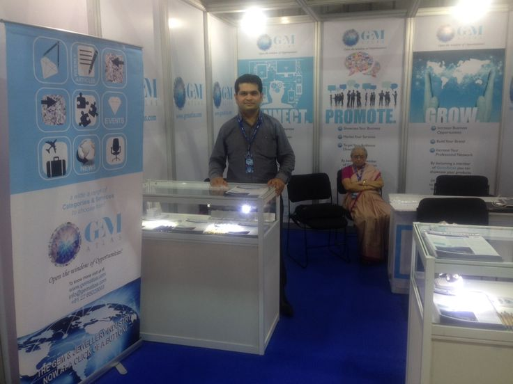 GemAtlas at largest Gems & Jewellery Exhibition - IIJS, visit us at Booth No. AL 099