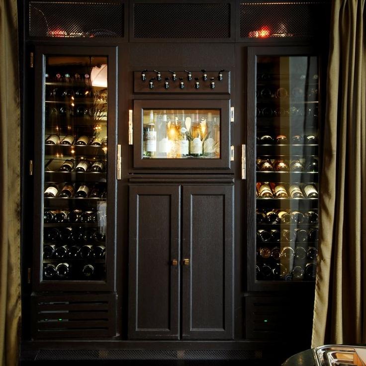 vinoteca con dispensador de vino integrado CONCEPT MILLESIME PROVINTECH