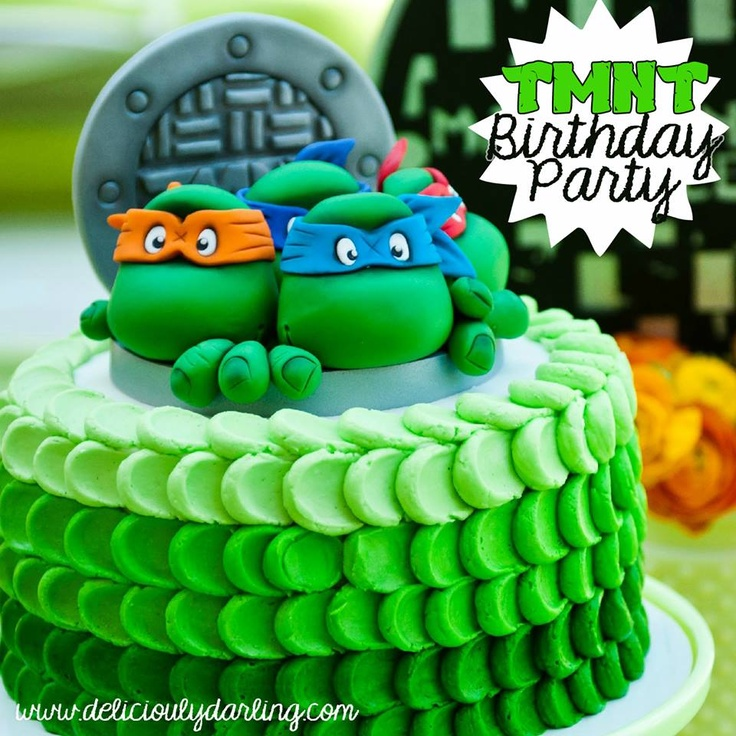 14 best Ninja Turtles Party Ideas images on Pinterest Ninja turtle