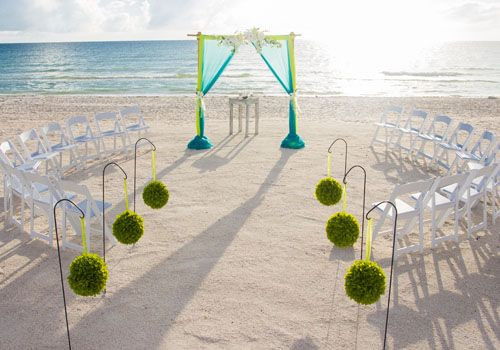 Clearwater Beach Wedding and Vow Renewal Packages