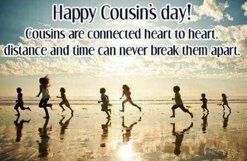 cousins day 2014 | Cousin's day is just to say thank you to all your cousins for all ...