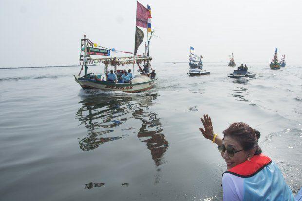 Tepis Rumor Maju Pilkada Jabar, Susi: Di Bandung Tak Ada Laut
