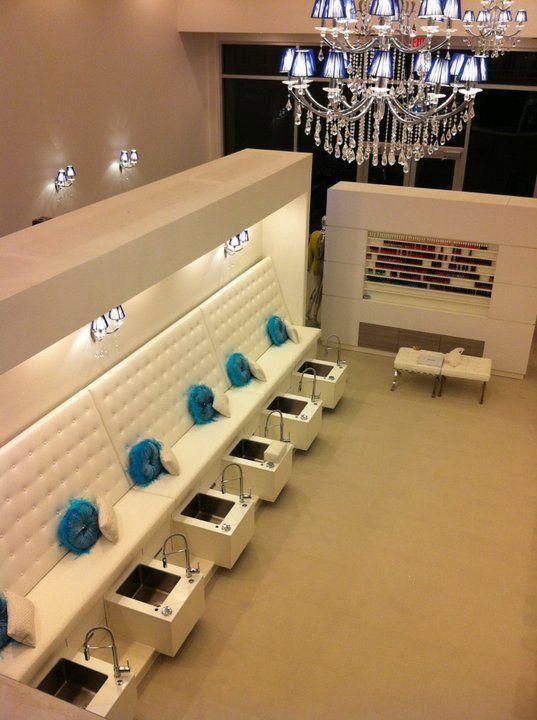 Nail Bar Interior Design
