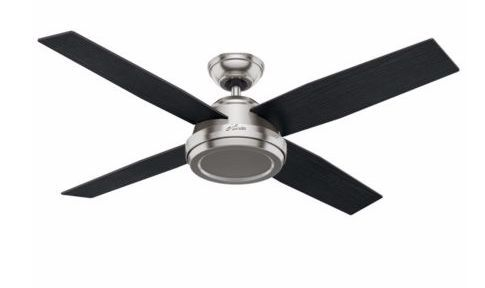 """52"""" Dempsey 4 Blade Ceiling Fan with Remote"""