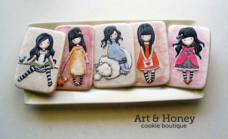 Art & Honey :  girl's dolls