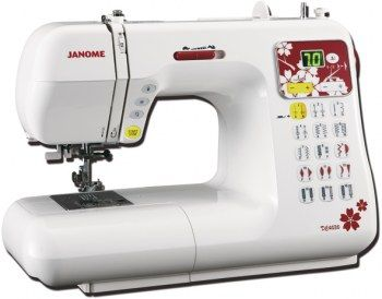 Macchina per cucire Janome DC4030 Jubilee - Velocità 820 punti al minuto, 30 tipi di punti tra utili, decorativi e stretch.